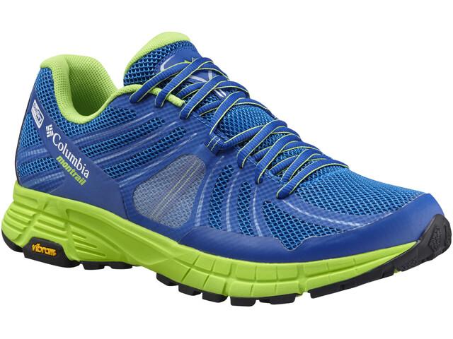 Columbia Mojave Trail Outdry Løbesko Herrer grøn/blå | Running shoes